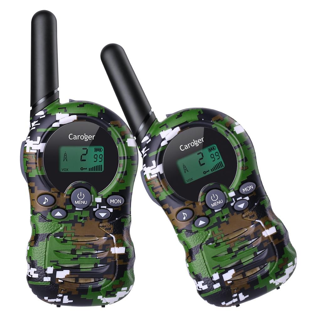 2X Walkie Talkies Interphone 2 Way Radio Handheld PMR446MHZ Kids Child Toys Gift