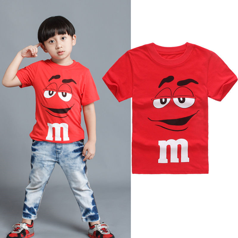Kids T-Shirt Clothing Personalised Short-Sleeve Baby Boy Fashion Cartoon Summer Casual