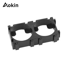Aokin 1ps 1p 2p 3p 18650 Battery Holder Bracket DIY Cylindrical Batteries Pack fixture Anti Vibration Case Storage Box Containe(China)
