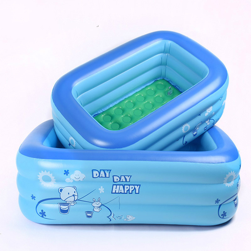 2019 Inflatable Pool Baby Swimming Pool Outdoor Children Basin Bathtub Kids Pool Baby Swimming Pool Water Play Gifts for Babies|Swimming Pool|   - title=