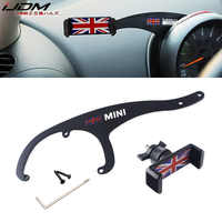 11.11 iJDM Car Mobile Phone Holder Bracket Auto Mount Stand Interior Accessories for BMW Mini Cooper R56 R55 Clubman Car Styling