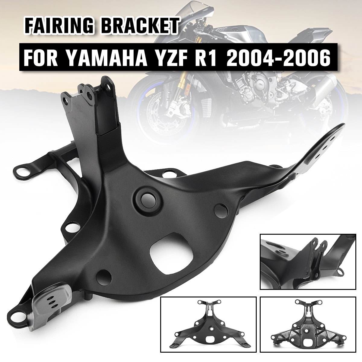 Front Headlight Upper Stay Fairing Bracket Fit For Yamaha YZF R1 2004 2005 2006
