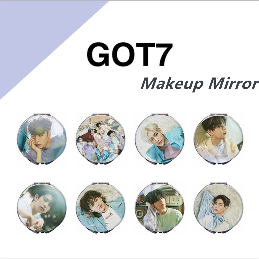 Jewelry & Accessories Kpop Got7 Present You Portable Makeup Fold Mirror Bambam Yugyeom Jackson Compact Mirror Jewelry Findings & Components
