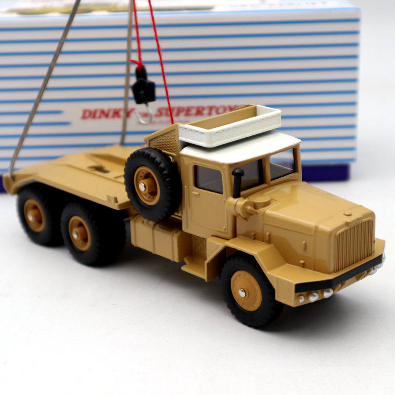 Atlas Dinky SUPERTOYS Ref 888 CAMION PETROLIER SAHARIEN GBO BERLIET Diecast Models Limited Edition Collection Toys Car Gift