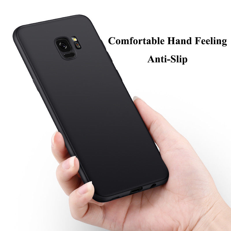 Soft Matte TPU Case For Samsung Galaxy S10 S9 S8 Plus A8 Plus A8S A5 J5 J7 A3 A7 2017 J3 2016 Note 9 8 S6 S7 Edge Silicone Cover