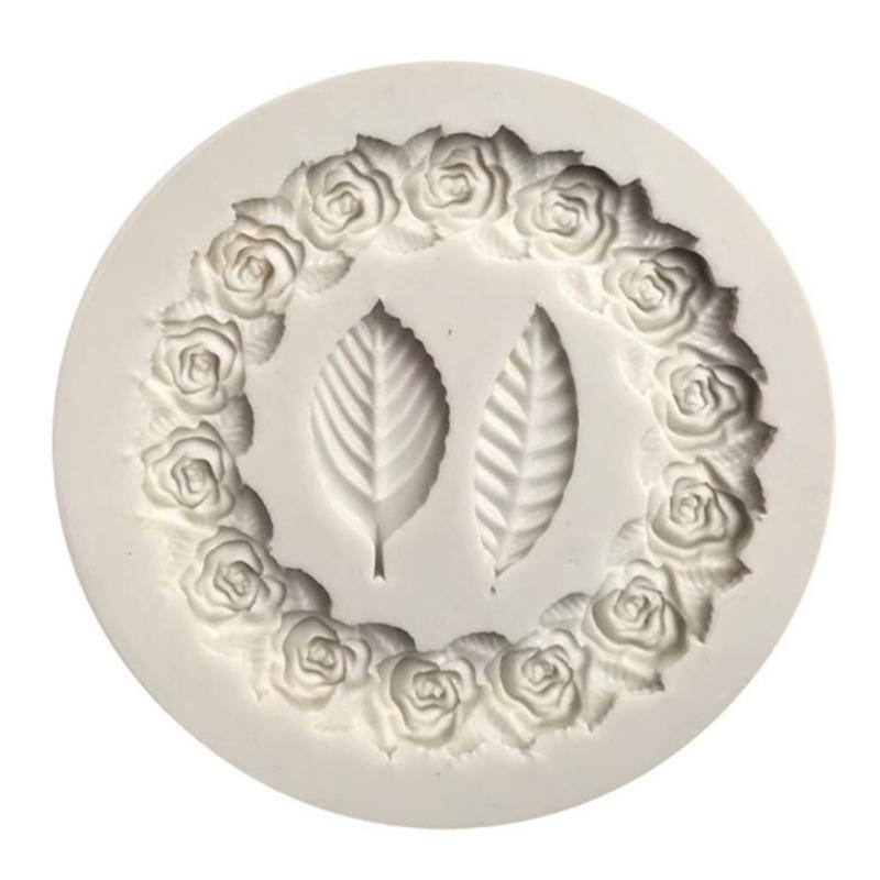 """Круглая форма для выпечки в виде цветка Форма для бисквитов печенье """"сделай сам"""" Шоколадная форма для выпечки ручной работы заготовка для мыла декоративная форма для торта"""
