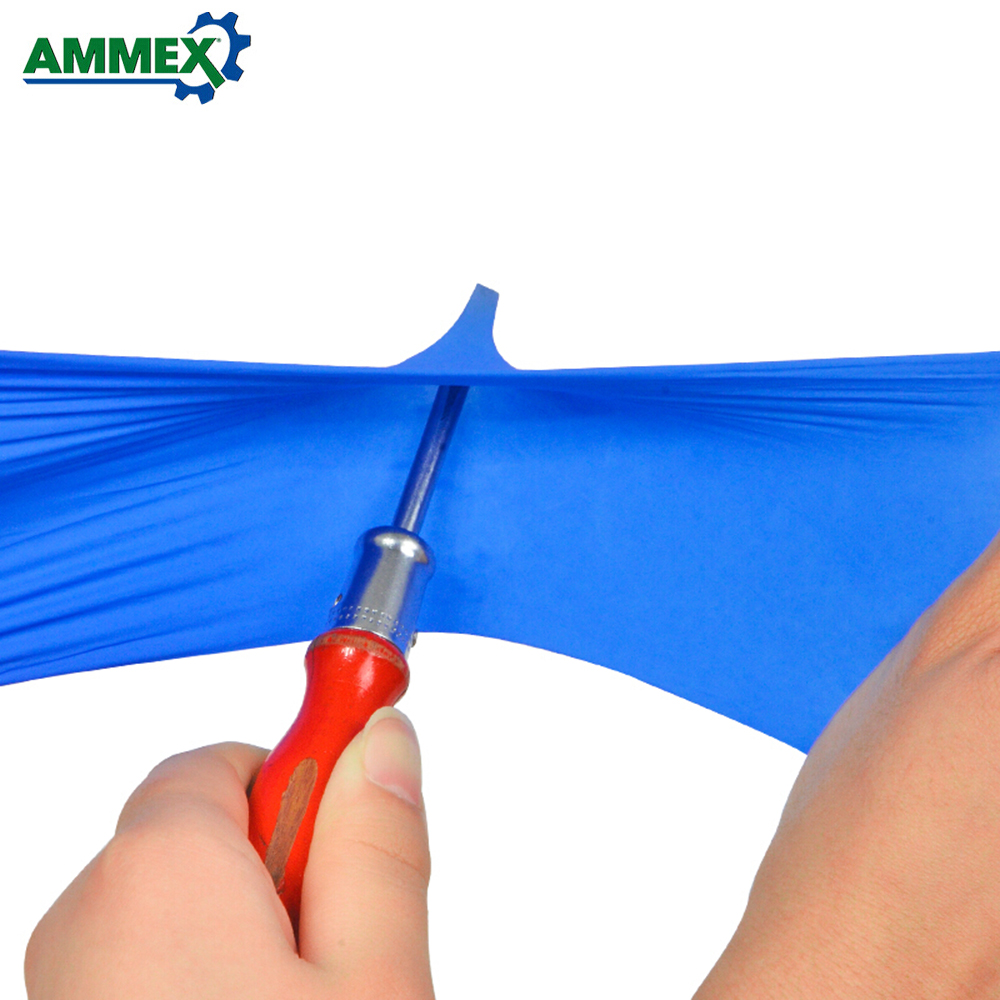 Image 3 - AMMEX 100Pcs Disposable Nitrile Rubber Glove Oil Resistant Puncture proof Gloves for Labor Home Food Medical Dental Use-in Safety Gloves from Security & Protection