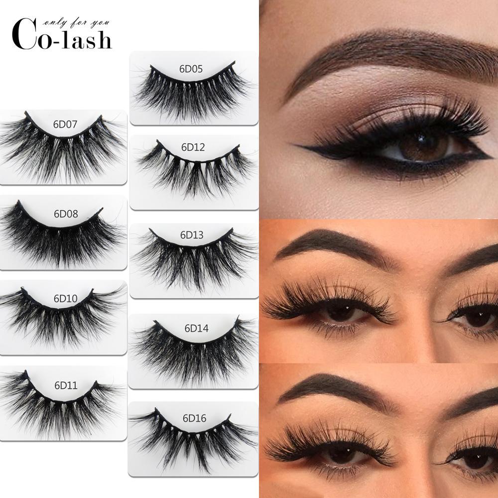 a267ea2ccea Colash 18mm Long 3D mink lashes extra length mink eyelashes Big dramatic  volumn eyelashes strip thick false eyelash