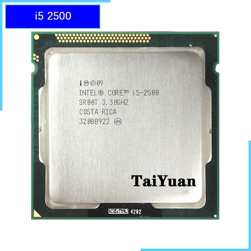 Intel Core i5 2500 i5 2500 3.3 GHz Quad Core CPU Processor 6M 95W LGA 1155-in CPUs from Computer & Office    1