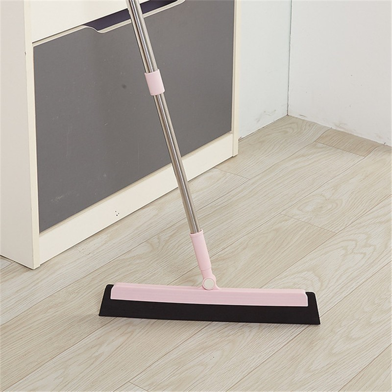 Retractable broom power up magnetic phone holder