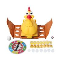 Kids Novelty Table Game Chicken Laying Egg Game Toy Parent Childen Fun Tricky Toys Kids Practical Interaction Desk Toy