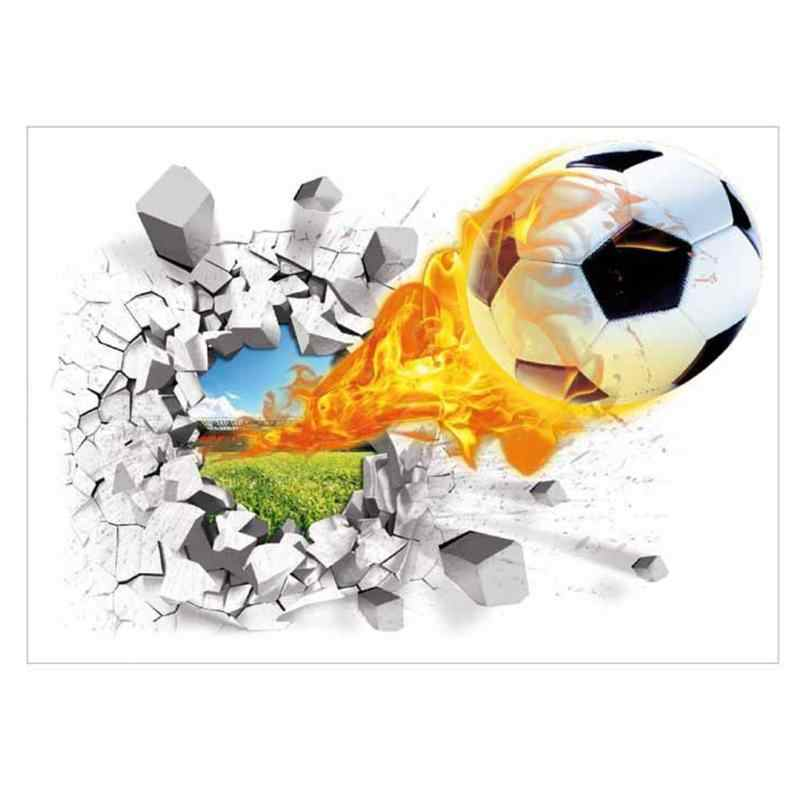 15x12cm DIY Removable 3D Soccer Ball Football Wall Car Body Sticker Decal L/&6