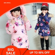 Girls winter coat Childrens Parkas Winter Jackets for girls Clothing jacket Clothes baby kids