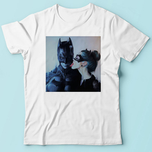 catwomen lick kiss batman funny funny t shirt men JOLLYPEACH BRAND summer new white casual homme cool tshirt no glue printing