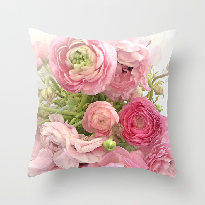 Image 2 - 2019 New American Dream Country Roses Pillowcase for Car Sofa Chair Valentine Gift Love Letter Party Decorative Cushion Covers-in Cushion Cover from Home & Garden
