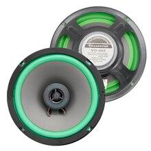 2pcs 6.5 Inch 2-way Car Coaxial Speakers Automotive HiFi 160