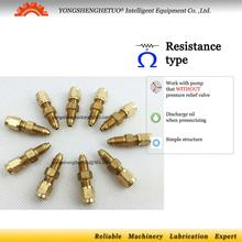Brass proportion oil flow metering unit resistance oil distributor include nut PSS 1 PSS 2 PSS 3 PSS 4 PSS 5 CSS M8x1