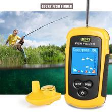 Вспомогательная рыбалка беспроводной Sonar красочный экран 0,7-40 м Открытый 90 градусов рыболовные принадлежности