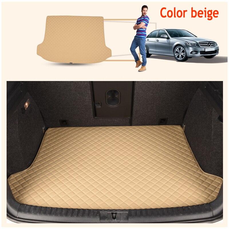 ZHAOYANHUA ajustement Personnalisé Haute côté tapis de Coffre de voiture pour Mercedes Benz 164 320 350 400 450 500 550x164 Chaussure Durable Tapis