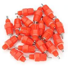 20pcs Automatic Water Nipple Drinkers Screw in Type Chicken Duck Livestock Drinking Feeder(China)