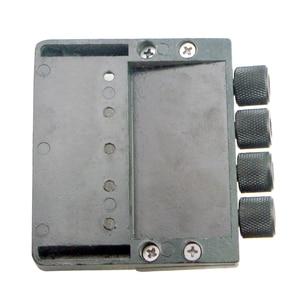 Image 4 - أسود 4 سلسلة باس الذيل جسر نظام السرج مقطوعة الرأس الكهربائية باس أجزاء الملحقات