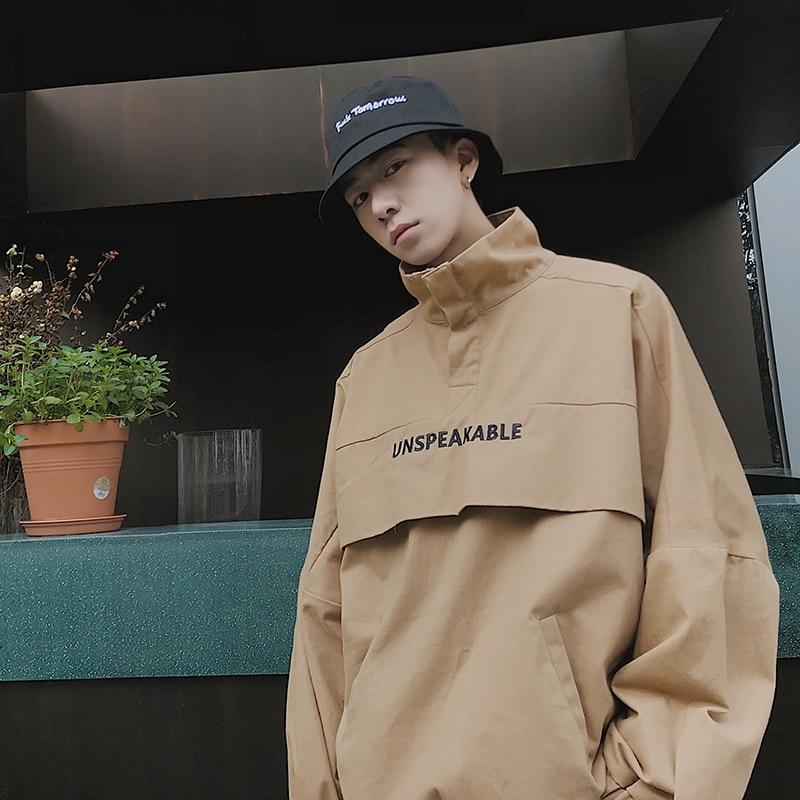 Aelfric Eden Cargo Pants Men 2019 Harajuku Streetwear Color Block Pockets Harem Joggers Casual Trousers Skateboard