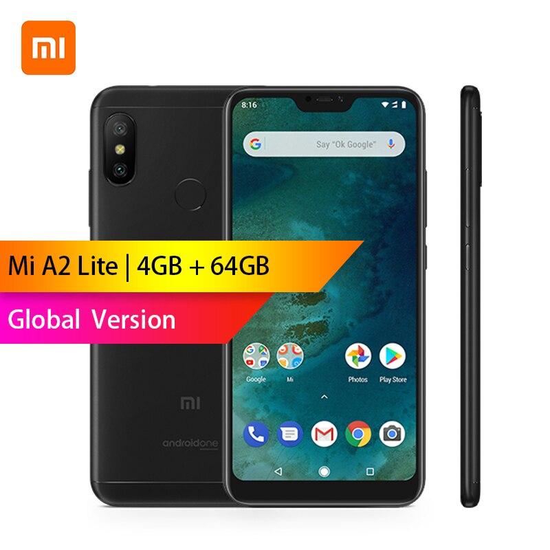 Mondial Version-Xiaomi A2 Lite 4 GB 64 GB Snapdragon 625 Octa base Téléphone 5.84