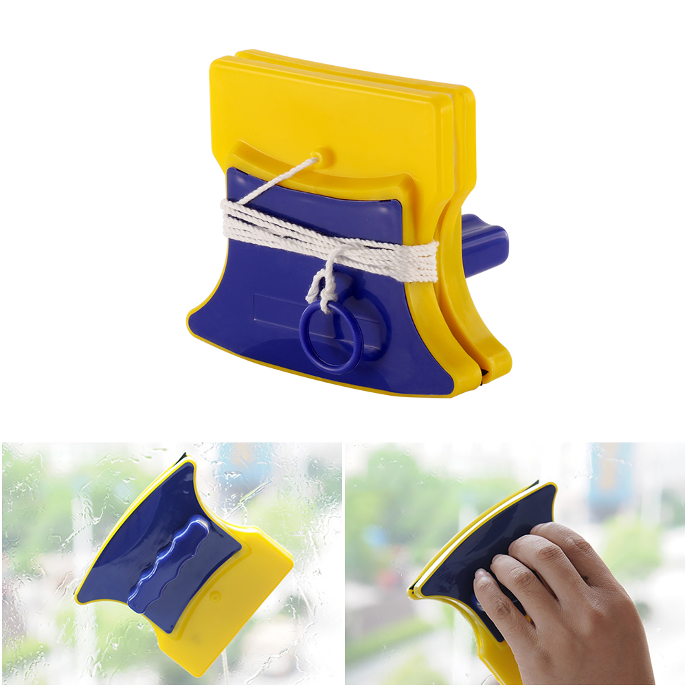 New Double-Sided Magnetic Brush For Window Cleaning And Magnetic Window Cleaner Tool