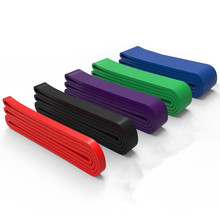 208cm Resistance Bands Yoga Elastic Workout Rubber Loop Crossfit Strength Pilate Fitness Training Expander Unisex