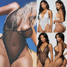 2019 Newest Hot Sexy-Women's Lace Lingerie Nightwear Underwear G-string Babydoll Sleepwear Dress