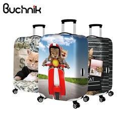 Милая пара товары для кошек чемодан Крышка женская обувь девочек эластичные защита для чемодана Дело тележка пыли дождь Сумки интимные АК