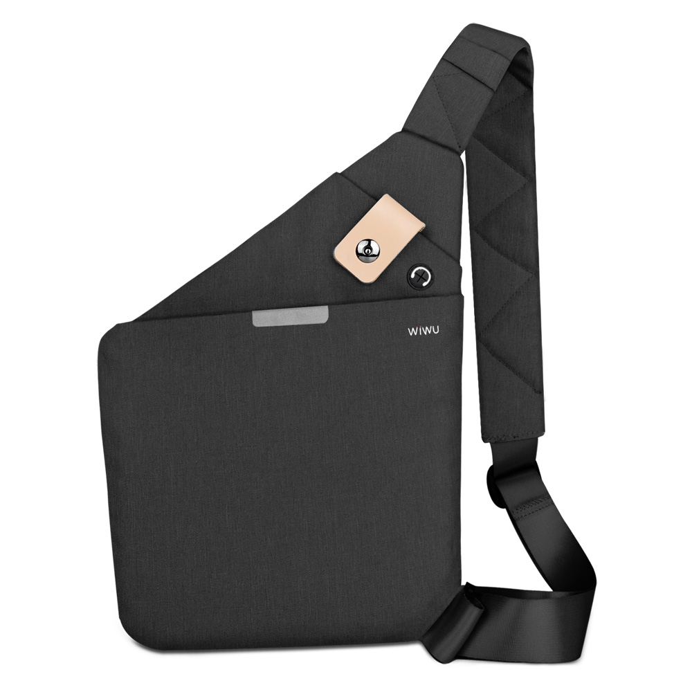 WIWU Cross-body Bag for iPad 9.7 10.5 Inch Water-resistant Women Bag Large Capacity Chest Travel Bag Anti-theft Shoulder Bags