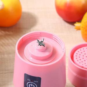 Image 5 - 380Ml Usb Rechargeable Blender Mixer 6 Blades Juicer Bottle Cup Juice Citrus Lemon Vegetables Fruit Smoothie Squeezers Reamers
