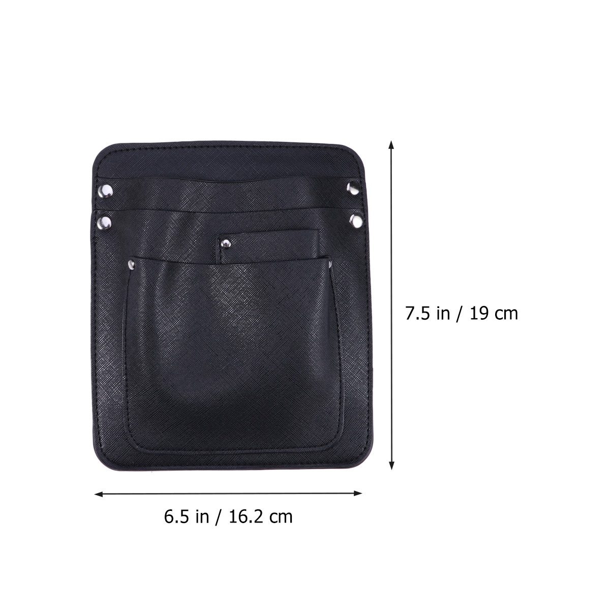 Piccolo Dei Disposizione nero Sacchetto Tools Fiori Dell'imbracatura Di Pelle In Del Rivetto Borsa tasca Multi Spalla La Per q4wORFqrxn