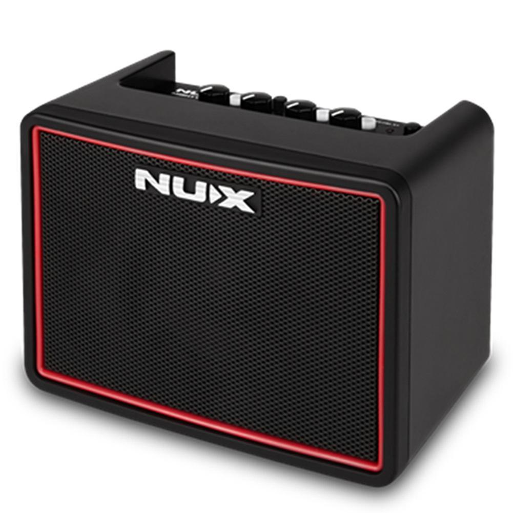 NUX 4.2W DC9V haut-parleur d'ampli de guitare Mini amplificateur Portable multifonction puissant Lite BT Mini accessoires de guitare de bureau