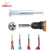 2.5/4 Square Universal Wire Twisting Tool Automatic Stripping  Stripper And Connector tools for Electrician