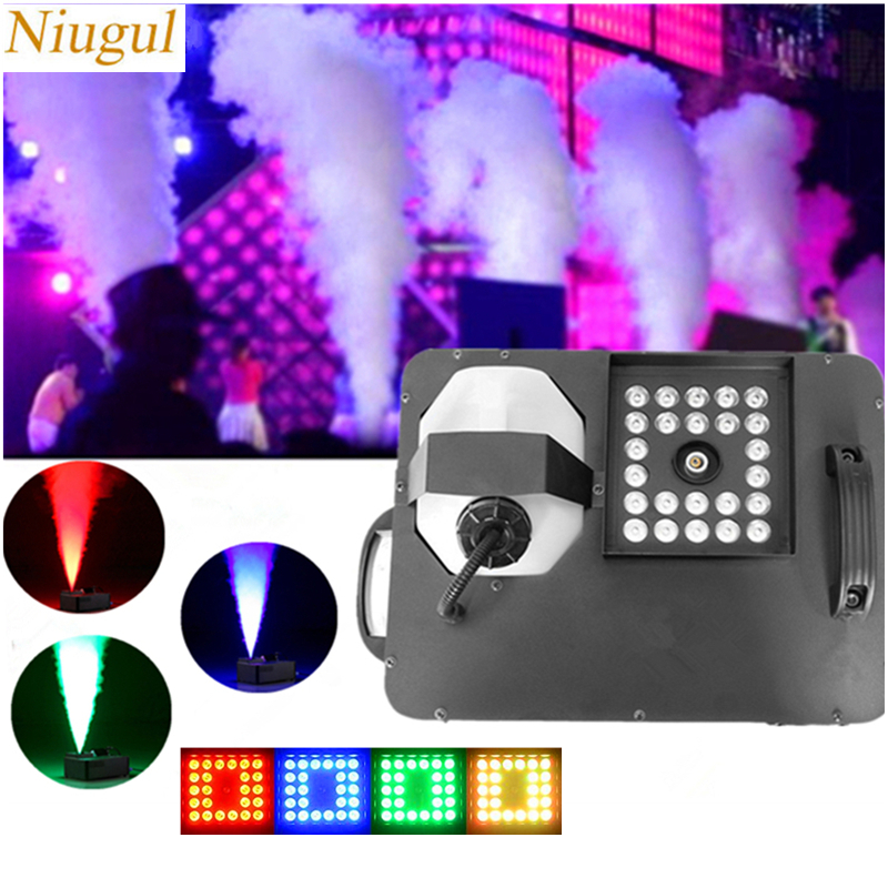 1500W LED Vertical Fogger/Wireless Control Fog Machine With 24X9W RGB 3IN1 LED Lights/LED Stage Smoke Machine For DJ Disco Bar1500W LED Vertical Fogger/Wireless Control Fog Machine With 24X9W RGB 3IN1 LED Lights/LED Stage Smoke Machine For DJ Disco Bar