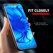 Senior 5D Full Transaprent Cover Tempered Glass Screen Protector for iPhone X Xs Max Xr 8 7 6 Plus 100pcs With Retail Package