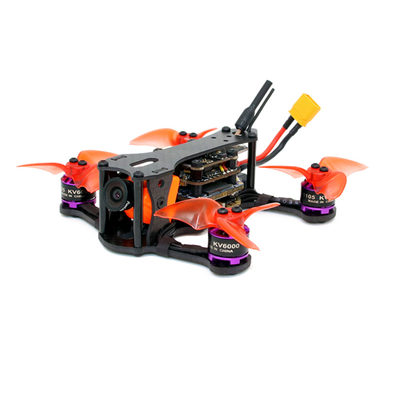 SPCMaker SPC K1 95mm F4 20A BL_S Course FPV Drone Racer PNP BNF w/RunCam Split Mini 2 caméra Compatible Flysky/Frsky Récepteur