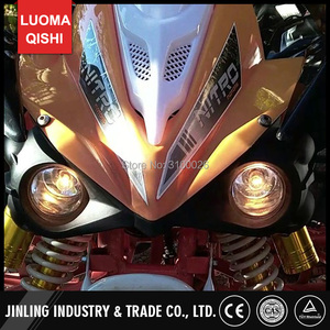 Image 5 - 12 v/36 v LED Front LIGHT Voor Jinling Actionbike Nirtro 50cc 110cc 125cc Kids MINI ATV Elektrische Quad bike JLA 07 06 S 12 S 8 Deel