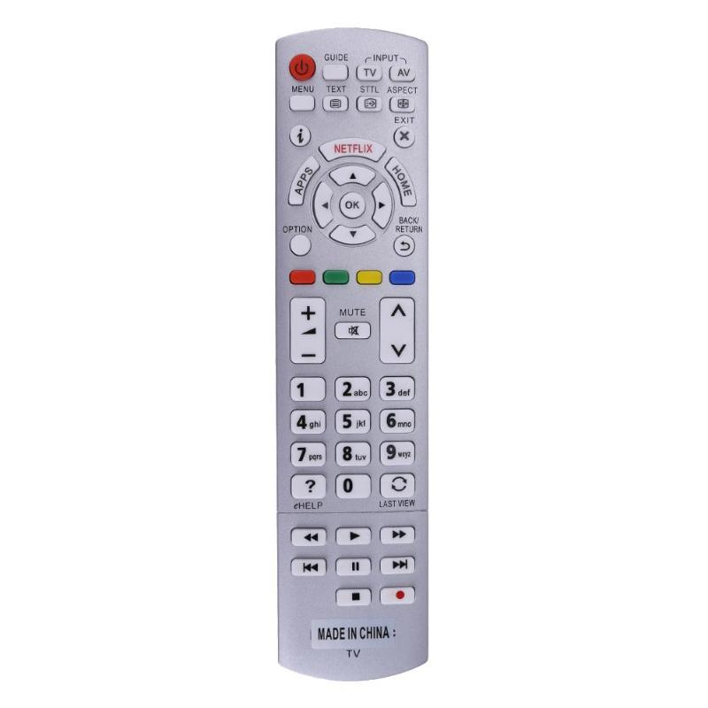 Universal 3D TV Remote Control Replacement for Panasonic N2QAYB001010 N2QAYB000842 N2QAYB000840 N2QAYB001011 Remote Controller