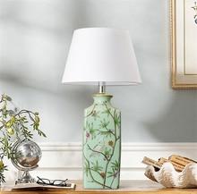 Chinese Ceramic LED Table Lamps Decoration Lights Bedroom Bedside Lighting Reading Desk Living Room Hotel Rooms