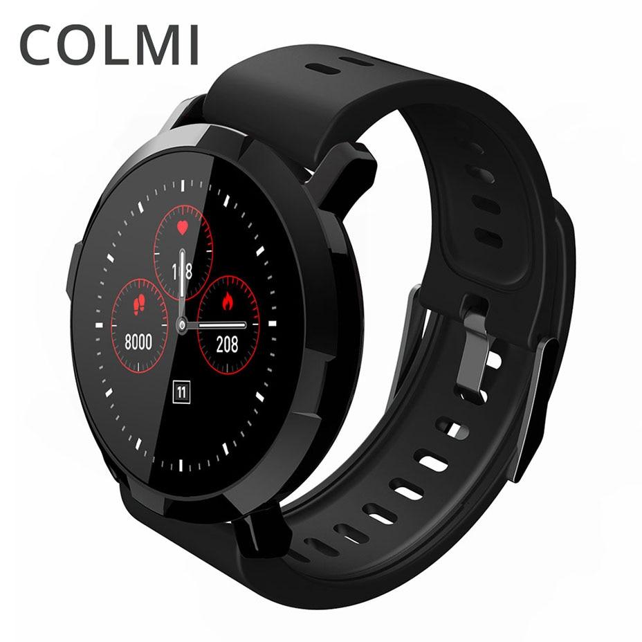 COLMI CM29 Smart Uhr Männer Große Bildschirm Bluetooth Frauen Mode Wasserdichte Elektronik Sport Tracker Herz Rate Tragbare Geräte