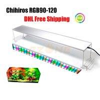 Chihiros RGB сериалы 90 120 см размер Aquarium Led освещение растение светать крышкой или повесить фиксацию с яркостью дистанционного управления