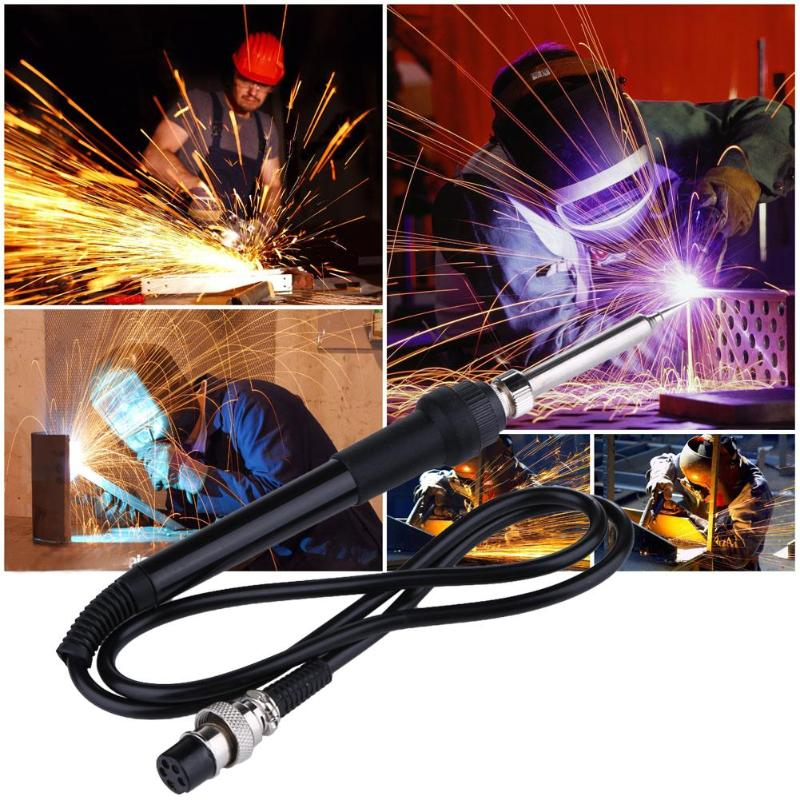 936 50W 24V Electric Soldering Solder Iron Station 5pin Welding Hot Gun Soldering Replacement Repair Tool