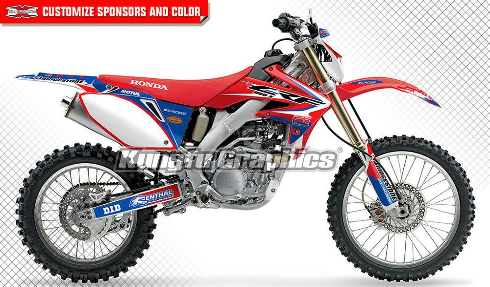 Plastic White Front Number Plate For Honda CRF250R 2010-2013 CRF450R 2009-2012