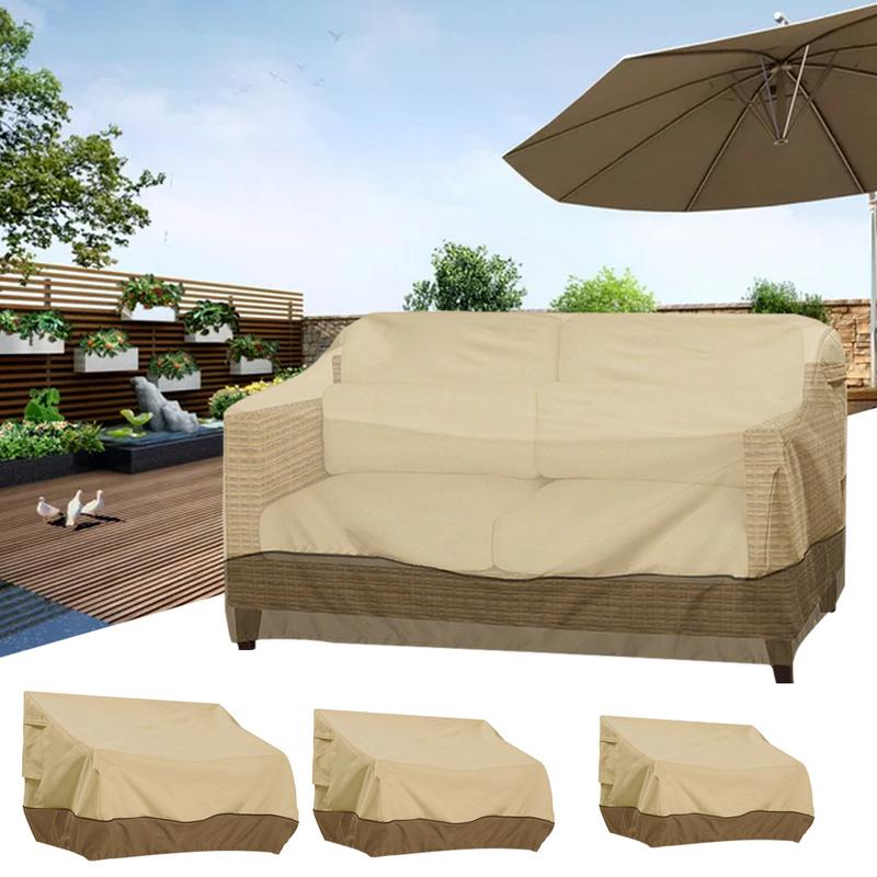 Super Us 13 94 20 Off Outdoor Sofa Cover Dustproof And Waterproof Chair Awning Waterproof Sunscreen Balcony Garden Furniture Dust Cover In Shoe Covers Theyellowbook Wood Chair Design Ideas Theyellowbookinfo