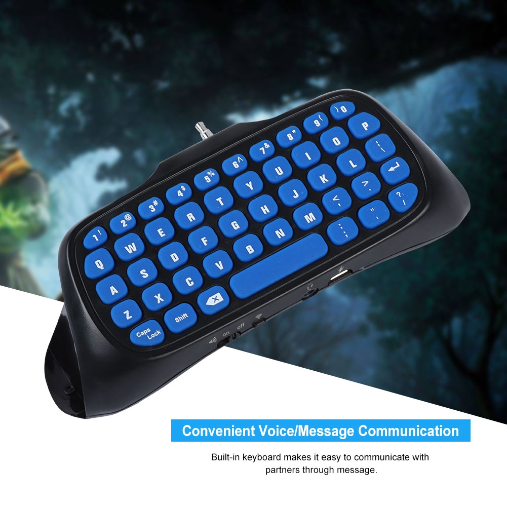 10 M Bluetooth Mango Teclado Voz/mensaje Chat Juego Control Teclado Para Ps4/ps4 Slim Alta Calidad