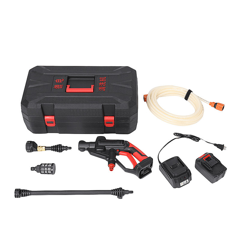 21V 2 0Ah Multifunctional Cordless Pressure Cleaner Washer Guns Water Hose Nozzle Pump With Battery