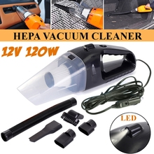 8832617edaf Handheld Vacuum Cleaner With Wire 1 Pcs Car Vacuum Cleaner DC 12V 120W Portable  Wet and